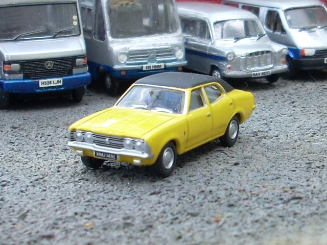 1/76 Oxford Diecast Ford Cortina