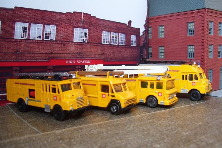 City of York Fire Station Line-Up.