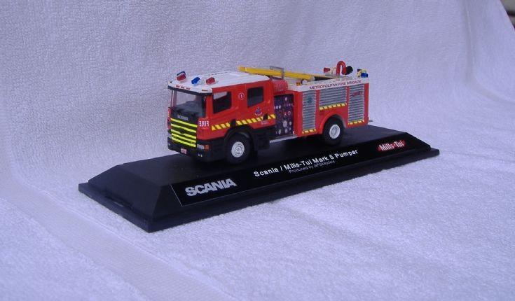 Scania MK5 Pumper Melbourne Metro Fire Brigade