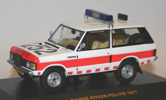 IXO 1/43 Rijkspolitie RangeRover