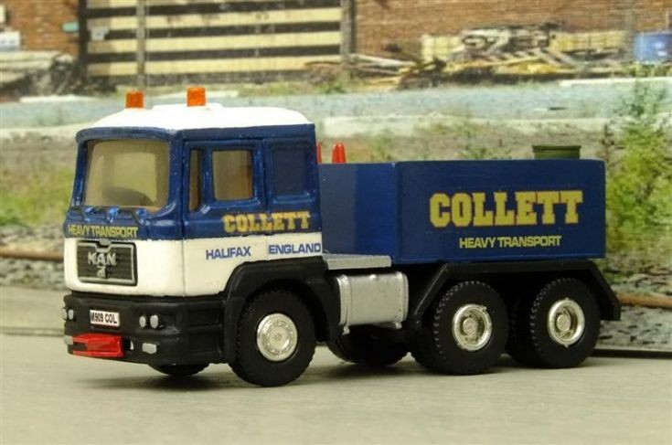 MAN Collett Haulage 1/76th Scale