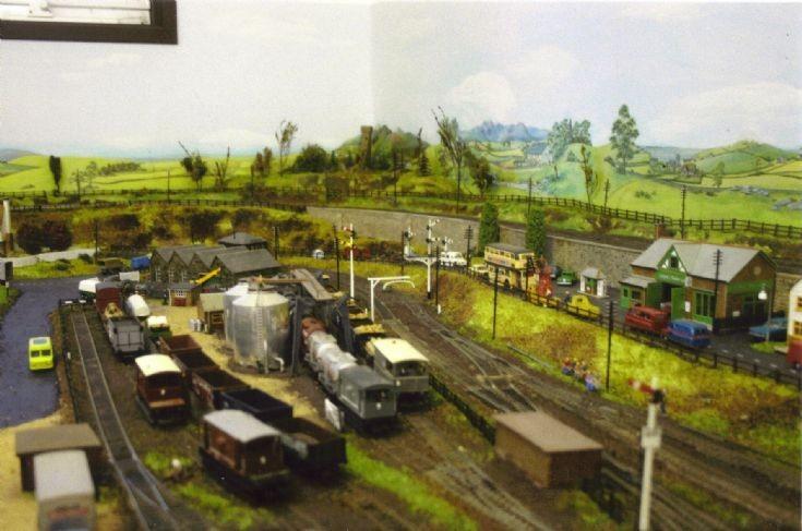 Model railway goods yard layout tool