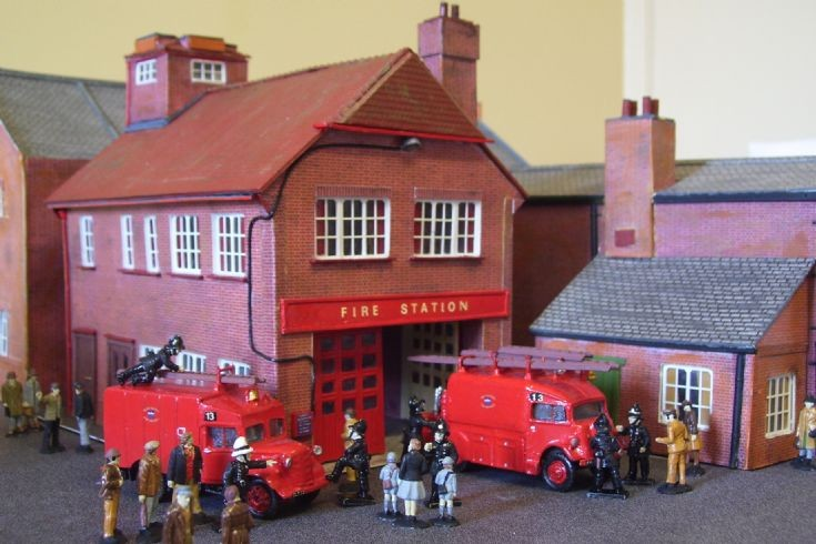 Post-War Lancing Fire Station.