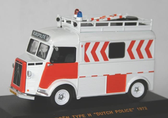 IXO 1/43 Rijkspolitie Citroën HY