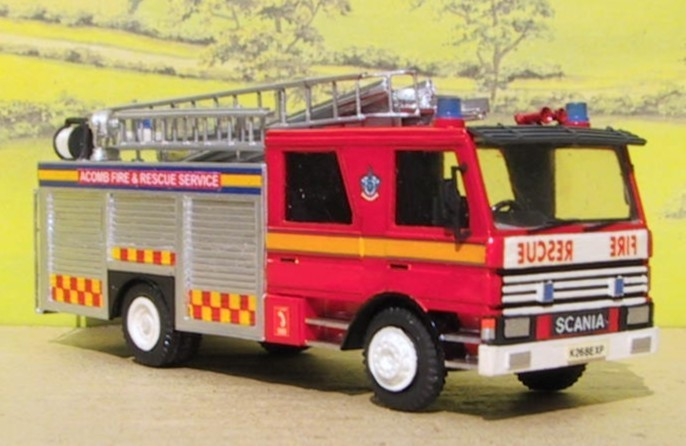Scania 92M Pump Ladder