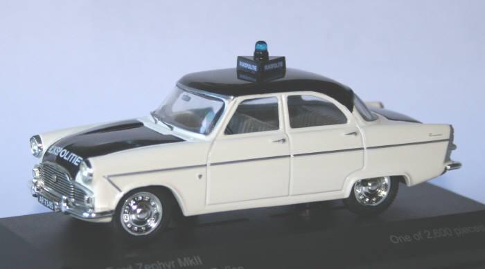 Vanguard 1/43 Rijkspolitie Ford Zephyr MK.II