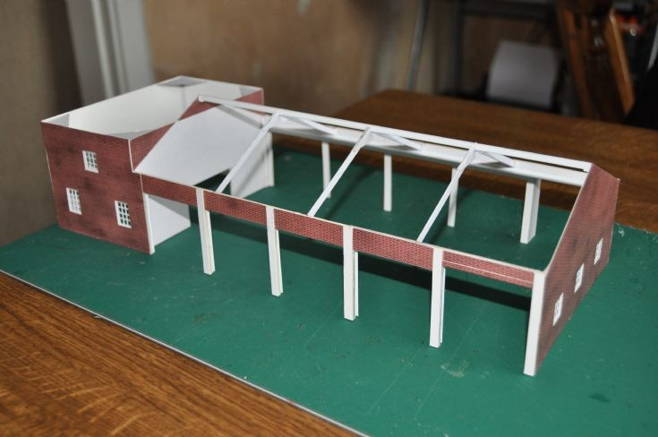 Model Fire Station Part 2