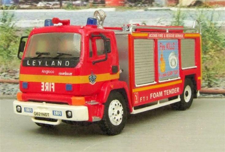 Leyland Foam Tender 1/76th Scale