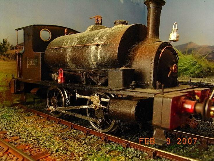 EX Caledonian Railway Pug