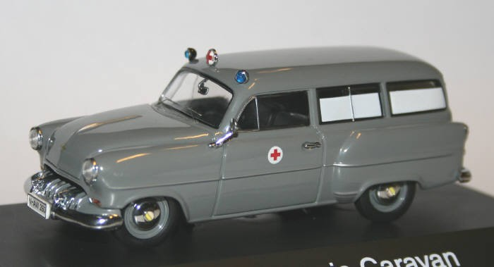 Schuco 1/43 Opel Olympia Caravan