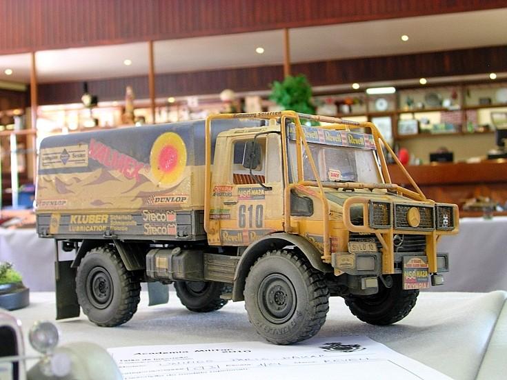 Mercedes-Benz desert truck