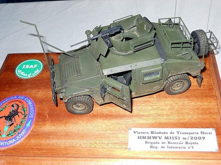 Portugese M1151 Enhanced Armament Carrier