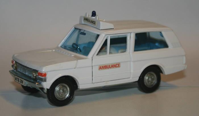 Dinky Toys 1/36 RangeRover Ambulance