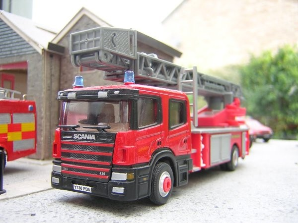 1/76 Scania turntable ladder