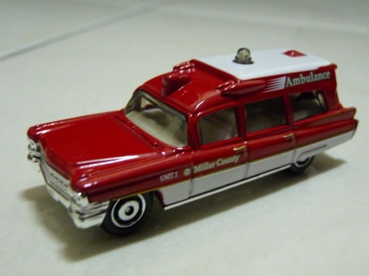 Matchbox Cadillac Ambulance Matchbox 1963 Cadillac