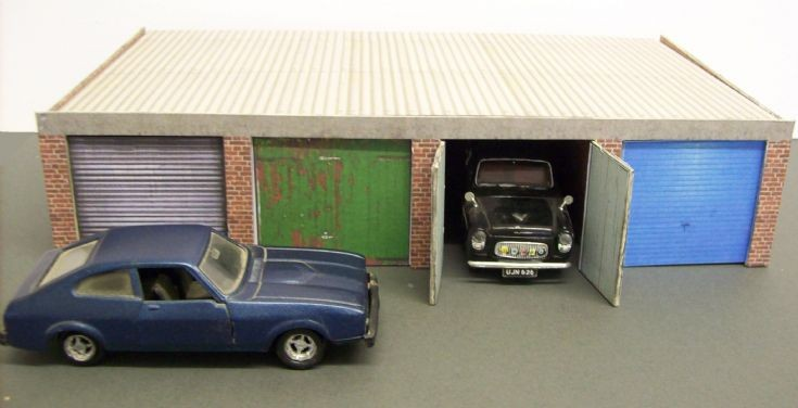 1/43 scale Ford Capri and Ford Prefect 100E