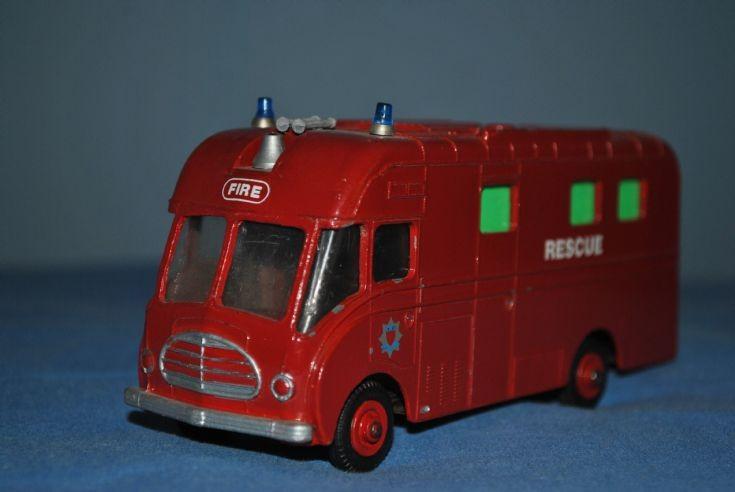Dinky BBC Van Converted to Rescue Van
