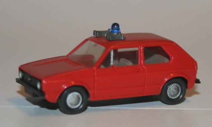 Wiking 1/87 Volkswagen Golf Staff car