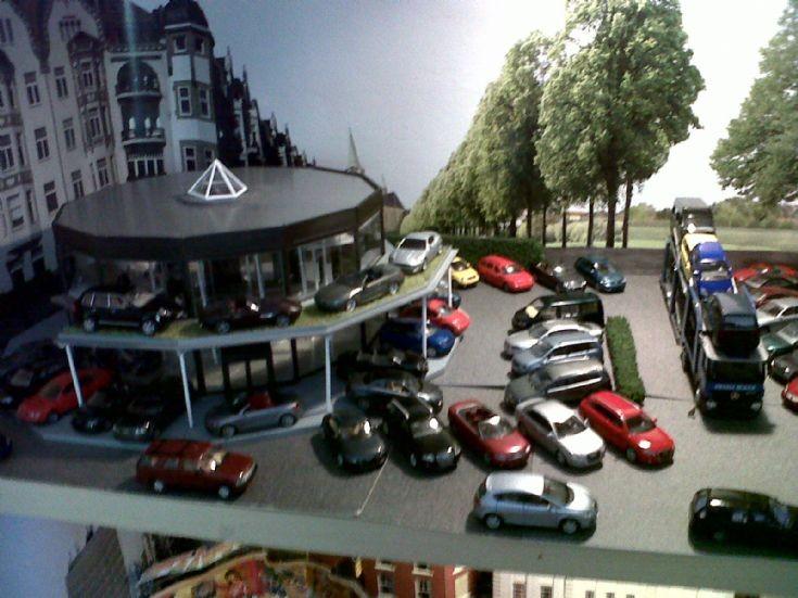 Transport Models Ho Scale Audi Dealership