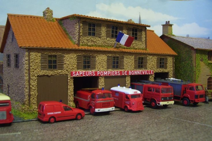 French Model Fire Station.