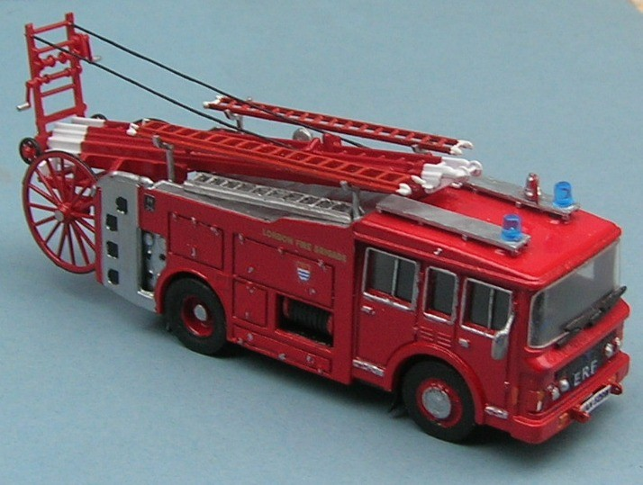 London Fire Brigade VAN 529M ERF PE