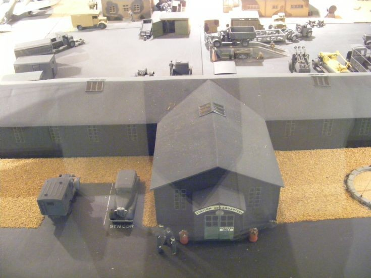 Model Dioramas at RAF Cosford