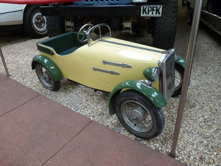 1955 Tri-ang Daimler Sports