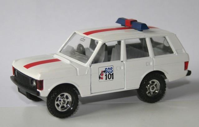 Corgi Toys 1/36 RangeRover Rijkswacht