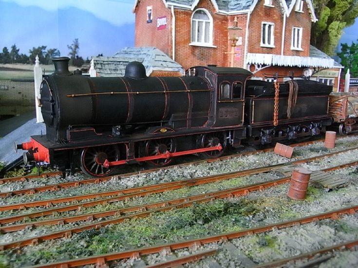 P3 Class J27 locomotive with tender