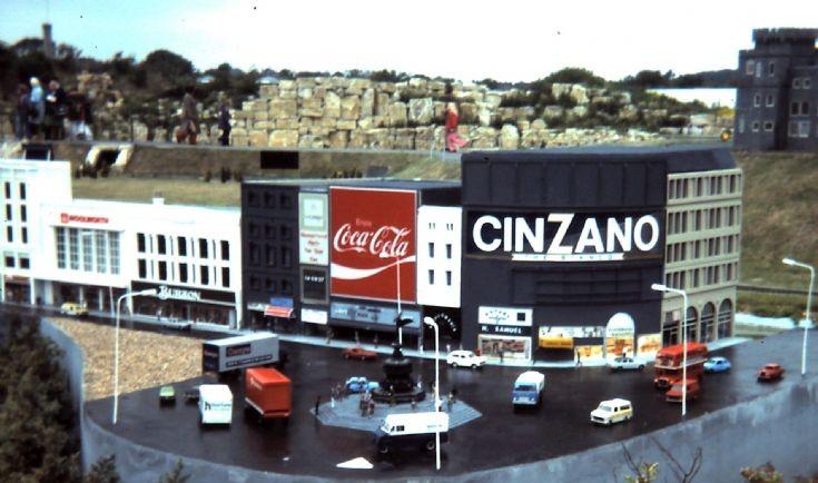 Vehicle models at Tucktonia 1977