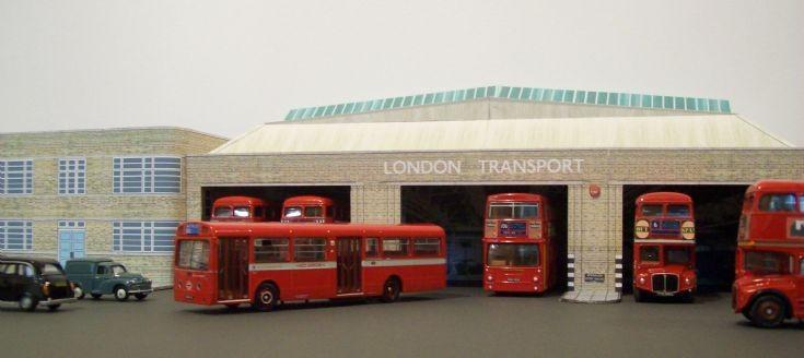 Hackney (Well Street) bus garage