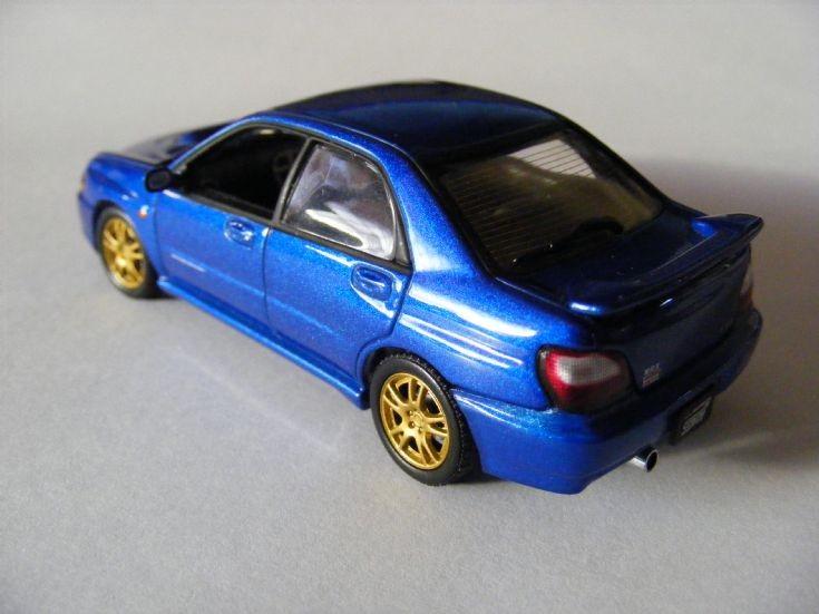 Subaru Impreza WRX STi model