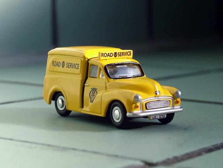 1963 Morris AA van