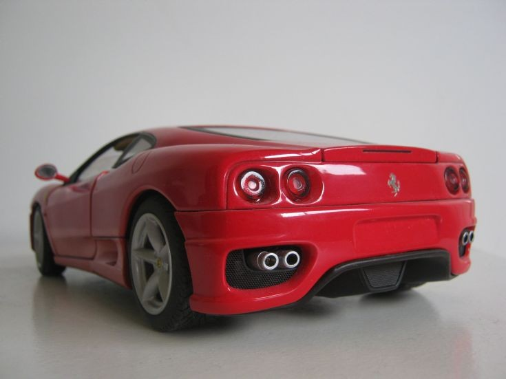 Hot Wheels 1:18 Scale Ferrari 360 Modena.