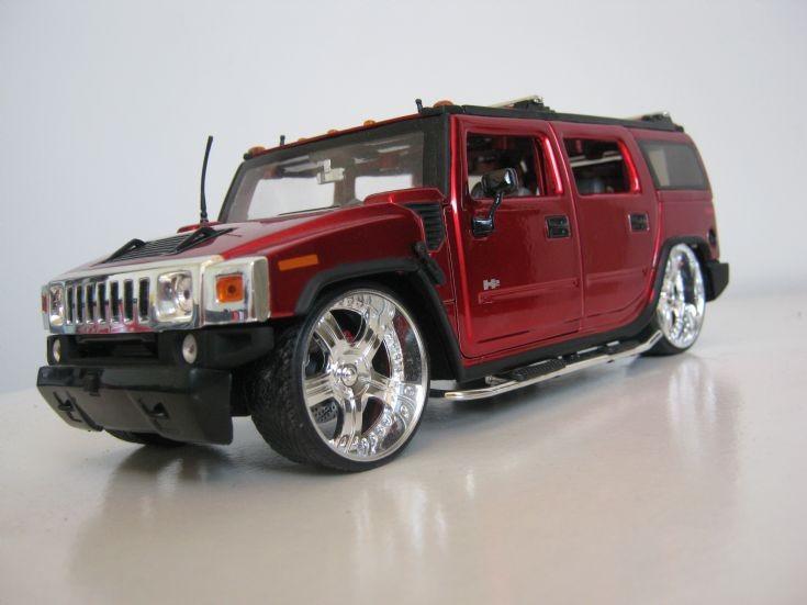 Jada Toys DUB Edition Hummer H2.