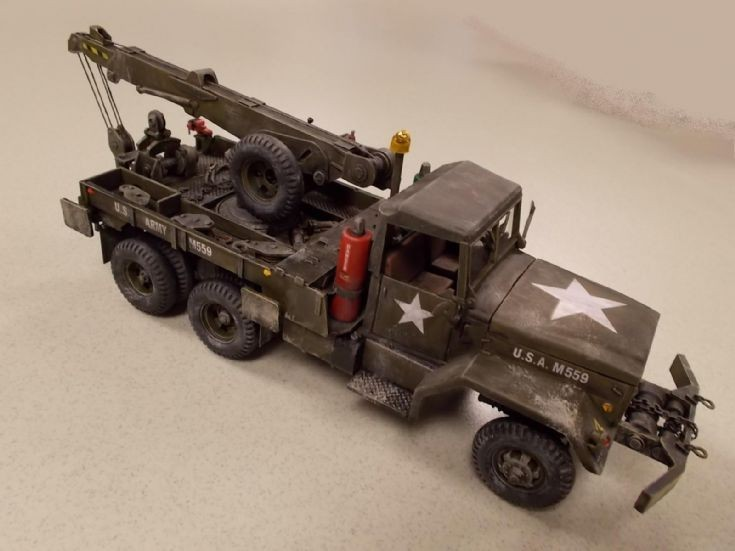1 / 32 Scale 5 Ton Wrecker US Army