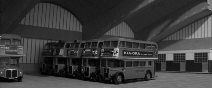 Stockwell bus garage interior