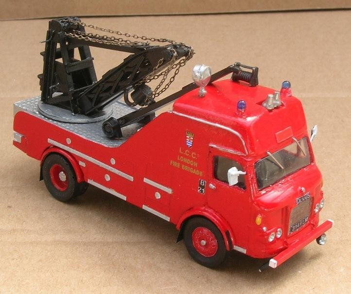 Dennis F107 Breakdown Lorry London Fire Brigade 314 FLM