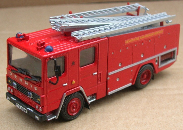 Dennis RS Devon Fire and Rescue Service CTT 288Y