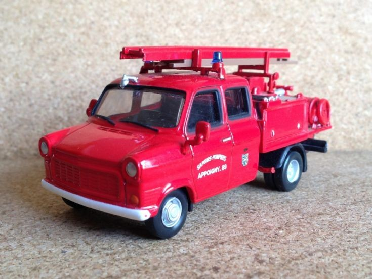 Ford Transit, French Fire Appliance.