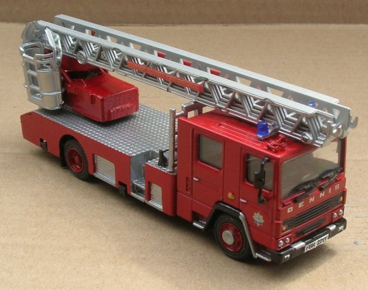 Dennis DF133 Turntable Ladder Durham County Fire Service
