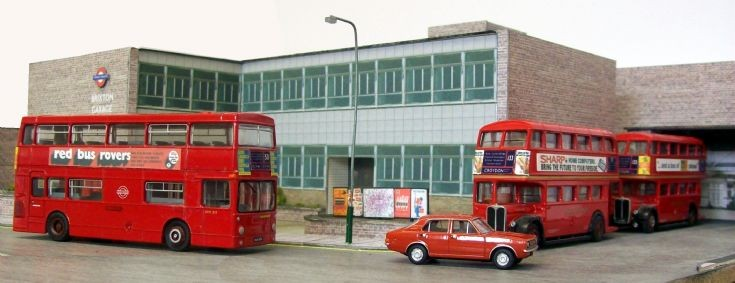 Brixton bus garage