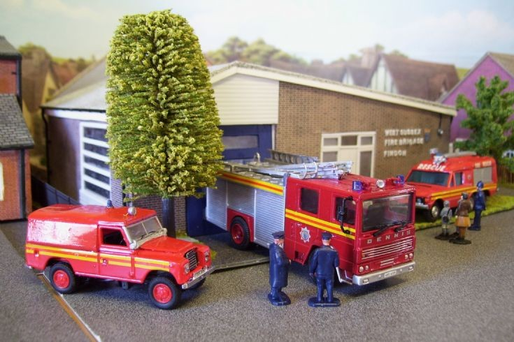 Findon Fire Station.