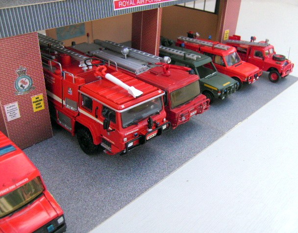 RAF Fire & Rescue Line Up. All 1/48th-1/50th