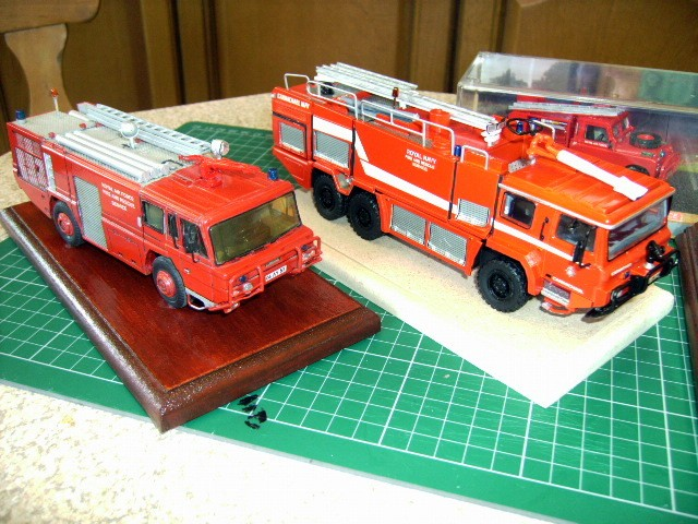 Mk10 and MFV 1/48th A Smith & Fire Brigade Models kits