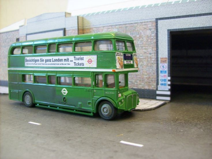 RCL Routemaster driver training bus