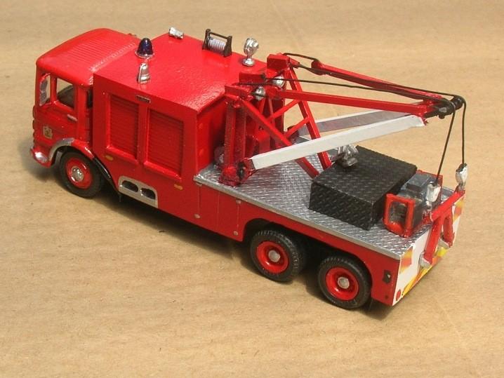 AEC Mercury Heavy Rescue Gloucester Fire Brigade KDF 146E