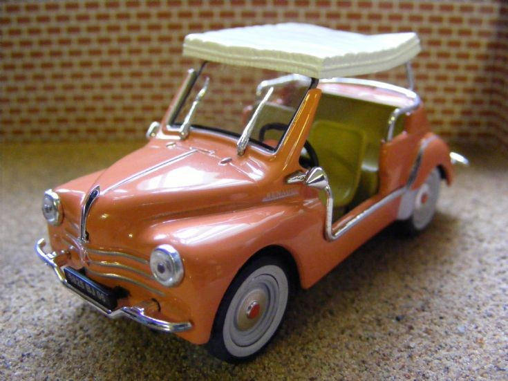 1961 Renault 4CV Decapotable Type 'R' Ghia Jolly Beach Car