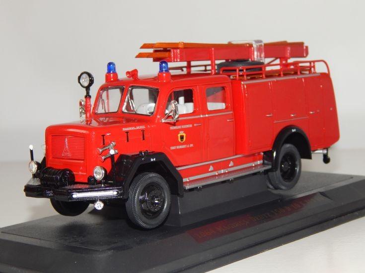 1964 Magirus Feuerwehr Neumarkt 1:43 scale.
