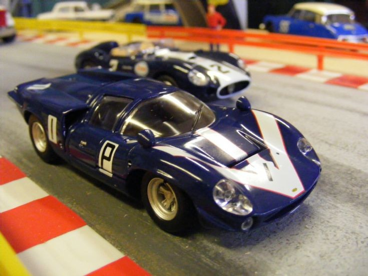 Museum Race Diorama